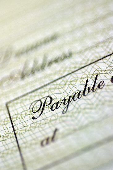 Rebate Cheque